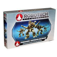 Robotech RPG Tactics Tomahawk Defender Destroids United Earth Defence Force Core Squadron