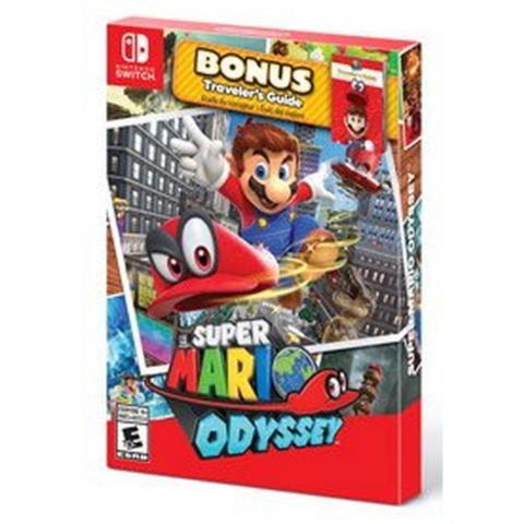 Super Mario Odyssey W/ Travel Guide (Switch)