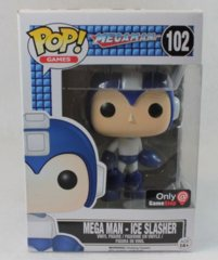 #102 - Mega Man - Ice Slasher (MegaMan) Gamestop Exclusive