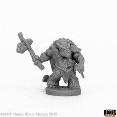 Armorback Barbarian (Reaper Bones Black) - 44064