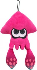Pink Inkling Squid (Splatoon)