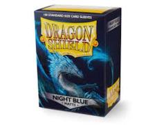 Classic Night Blue - Standard Sleeves (Dragon Shield) - 100 ct