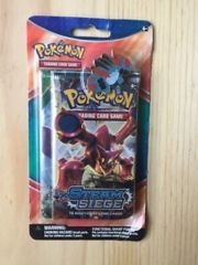Pokemon - Steam Seige Booster Pack And Collectors Pin