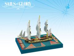 Sales of Glory Ship Pack HMS Concorde 1783 / HMS Unite 1796