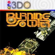 Burning Soldier (Jeweled Case)