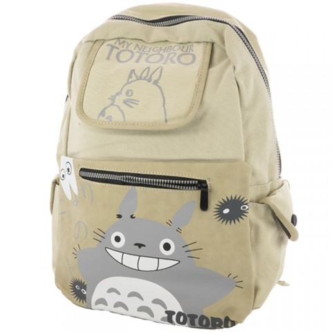 Beige - My Neighbour Totoro and Dust Bunnies (Backpack) - Apparel ... 7853844d56