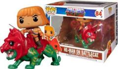 #84 - He-Man on Battlecat (Masters of The Universe)