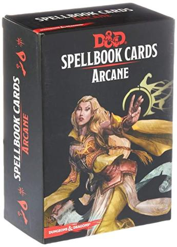Dungeons And Dragons RPG (Updated Spellbook Cards) - Arcane Deck