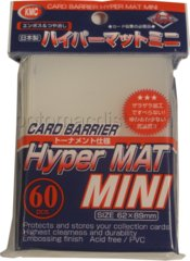 Hyper Mat Clear - Mini Sleeves (KMC) - 60 ct