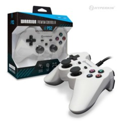 "Hyperkin PS2 ""Warrior"" Premium Controller (White)"