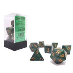 Golden Recon Speckled - Dice (Chessex) - CHX25335