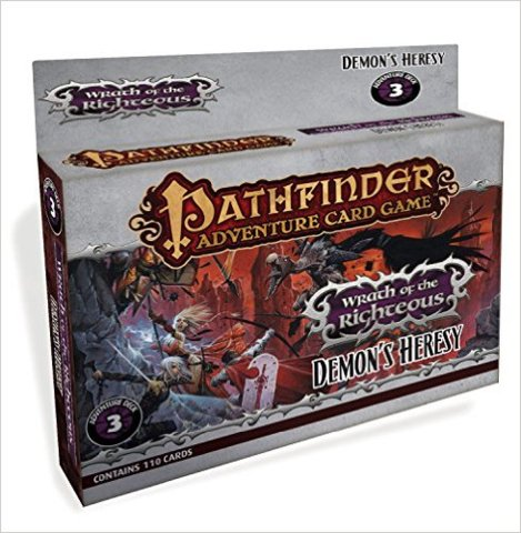 Pathfinder Adventure (Card Game) - Wrath of the Righteous Adventure Deck 3 - Demons Heresy