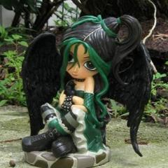 Green Fairy - Once Upon a Midnight Dreary (Hamilton Collection)
