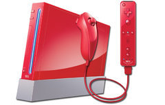 Nintendo Wii System (Red)