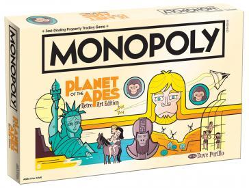 Monopoly - Planet Of The Apes Retro Art Edition