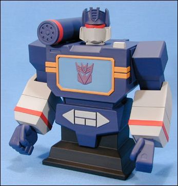 Transformers Soundwave Cold Cast Bust - Toys + Collectables