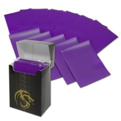 Matte Purple - Standard Boxed Sleeves (BCW) - 80 ct