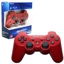 PlayStation 3 (PS3) Controller in Red (Wireless Sixaxis) Dual Shock 3