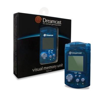 Dreamcast VMU -- Blue