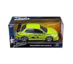 Brian's Mitsubishi Lancer Evolution VII (Fast & Furious) - Jada 1:24