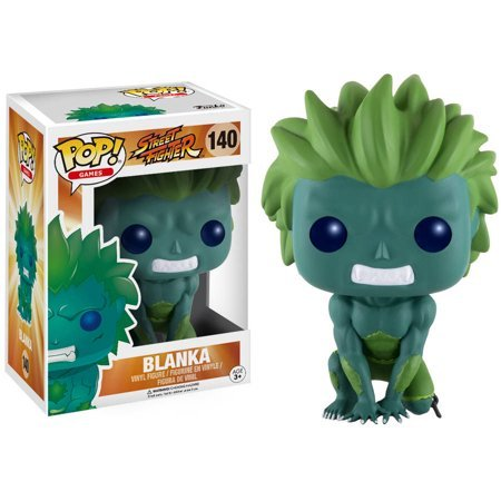 #140 - Blanka (Blue-Green) (Street Fighter) - Walmart