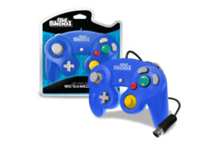 (Old Skool) GameCube / Wii Compatible Controller - Blue
