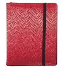 Red - Dragon Hide - Pocket Binder (Legion) - 3x4