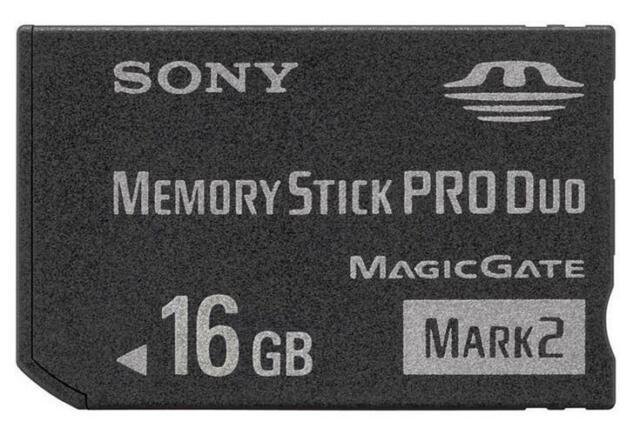 PSP Memory Stick PRO Duo 16GB