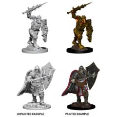Death Knight AND Helmed Horror - Dungeons & Dragons (Nolzur's Marvelous Miniatures) - Unpainted