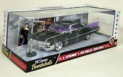 Catwoman + 1959 Cadillac Coupe Deville (DC Comics Bombshells) - Jada 1:24