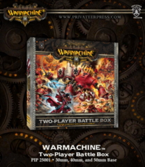 Warmahchine Two Player Battle Box
