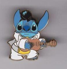 Disney Pins - Elvis Stitch