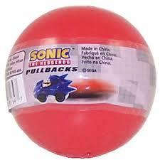 TOMY Gacha Ball - Sonic the Hedgehog (Pullbacks)