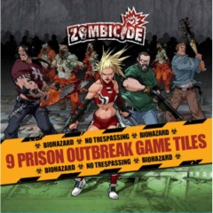 Zombicide 9 Prison Outbreak Game Tiles