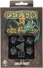 Celtic Gray-Black (Q-Workshop) - 7 Dice Set