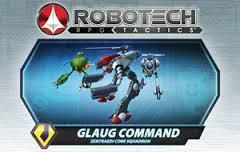 Robotech RPG Tactics Glaug Command Zentraedi Core Squadron