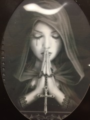 Notebook Gothic Prayer ASK-07