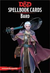 Dungeons And Dragons RPG (Updated Spellbook Cards) - Bard Deck
