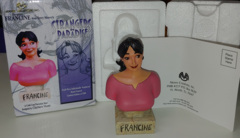 Strangers in Paradise: Francine: Limited Edition 1147/2500: Cold Cast Porcelain Bust: Clayburn Moore:Moore Creations, Inc.