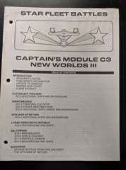 Captain's Module C3: New Worlds III: Rulebook