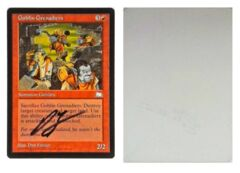 Goblin Grenadiers: V0021: Artist Proof: Autograph/Signature: Dan Frazier: Black
