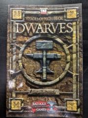 D20: Heroes of High Favor: Dwarves
