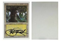 Forest: V0018: Artist Proof: Autograph/Signature: Christopher Rush: Silver