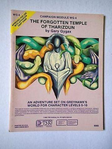 Campaign Module Wg4 The Forgotten Temple Of Tharizdun Role