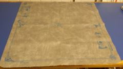 Spellground Original Playmat Gray w/ blue(no package)