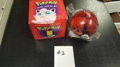 Pokeball: Jigglypuff: Red Box: (Variant 2) Burger King: 23K Gold-Plated