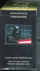 Enhanced Premiere: Darth Vader With Lightsaber: Box Set