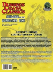 Dungeon Crawl Classics #67: Sailors of the Starless Sea: Artist's Choice Limited Edition Cover