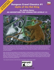 Dungeon Crawl Classics #1: Idylls of the Rat King