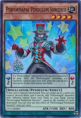 Performapal Pendulum Sorcerer - CT13-EN007 - Super Rare - Limited Edition